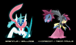 Galinja - Hydregile Pokemon Fusinons by vaporeono