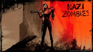 Black Ops 2 Zombies Wallpaper by Gabrielle3Richtofen