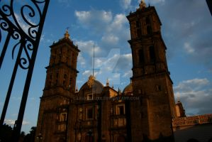 church Puebla three by Leuxdeluxe