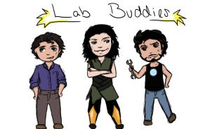 Conviction: Lab Buddies by Cherry-Top