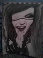 Andy Biersack almost done by yahiko62033