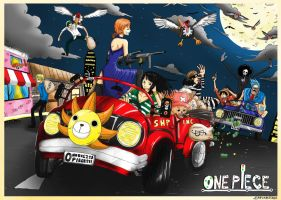 One Piece : Money Car by JERRYABISTADO
