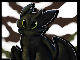Toothless by imakocoa