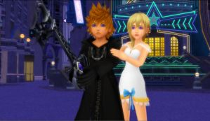 Roxas x Namine - Don't You Dare Touch Her by rev-rizeup