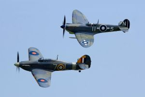 Sea Hurricane and Seafire by Daniel-Wales-Images