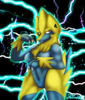 Manectric by RedImpLight