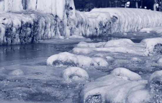 Icy Ground 3 by PhotonicBohemian