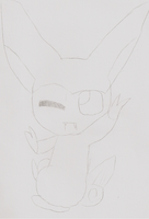 First Victini Drawing by Latia-Azure