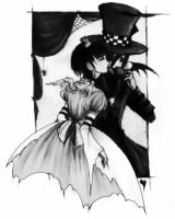 A Mad Relationship v.grayscale by NarcolAngela