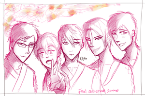 Sketch - Free! Eternal Summer by SHINeeDos