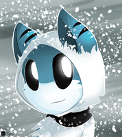 Snow Shark :D by SmilehKitteh