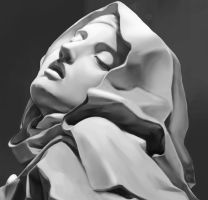 Photo Study 45 - Bernini's Sculpture by Zeon1309