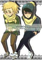 South Park : Craig X Tweek 13 by sujk0823