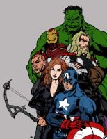 The Avengers WIP by Plugin848y