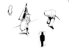 Silent Hill Sketches by CptAlbertWesker
