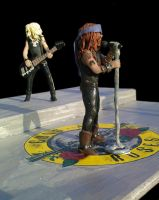 Guns N' Roses, Axl and Duff by GoldenYears
