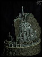 Minas Tirith (The Lord of the Rings) by sonsolesfeviga
