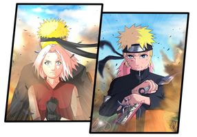 Narusaku : Hope collab Lajuicyfleurs by Celious
