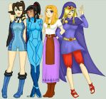 .:Tag Collab:. Cosplay Style by Luifex
