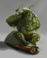FOREST TROLL by Shafiqur