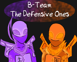 AU TMNT Ultimate Forms: B Team by Rae-Chan13
