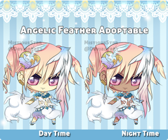 Angelic Feather Adoptable [Close] by MistiousStar