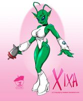 Xixa fanart by GraphicBrat