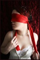 Bound in Red Silence by fetishfaerie-photos