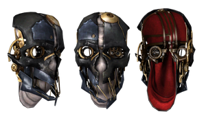 Mask of Dishonored by vadosrespekt