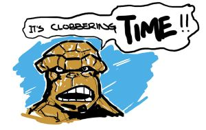 Clobbering Time! by jdcunard