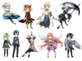 chibi commission T2 | batch 2 by catne