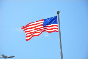US Flag by bubzphoto