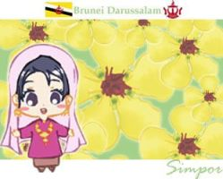 Flower of Brunei by refudger