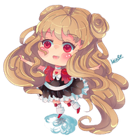 Chibi for FrozenAngel-chan by KyouKaraa