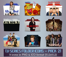 TV Series - Icon Pack 21 by apollojr