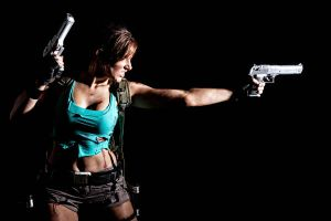 Lara Croft Disheveled 3 by JennCroft
