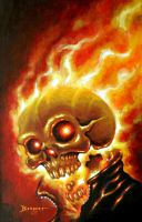 Ghost Rider by Berbert