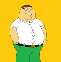 Family Guy - Peter Griffin by kbinitiald