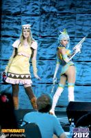 ACen 2012: Blue Rose and Karina Lyle by MomoKurumi