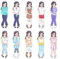 Sakura's Clothes by 2sisters34