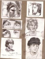 beatle collage- old one by goshnessmaggy