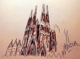 Sagrada Familia by Hellluke