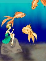 Fish Gazing by Karie-Pyre