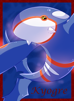 Kyogre - The Sea by The-Chibster