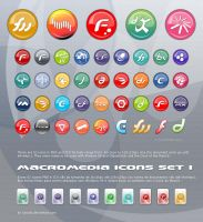 Macromedia Icons Set by luiscds
