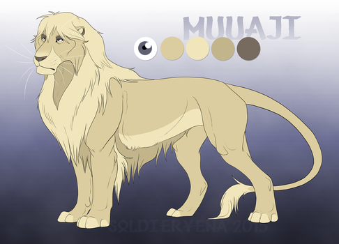 Muuaji Reference by SoldierYena