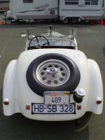 1938 BMW 328 convertible rear by Partywave