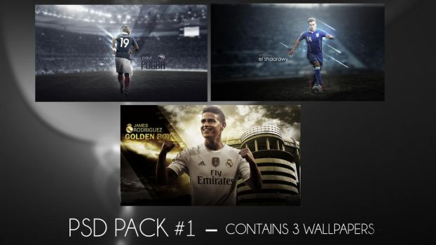 PSD Pack #1 by RakaGFX