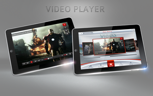 Video Player  ipad for sale by REDFLOOD