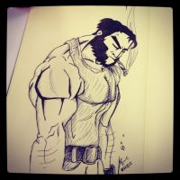 Wolverine by me by PhantomxLord